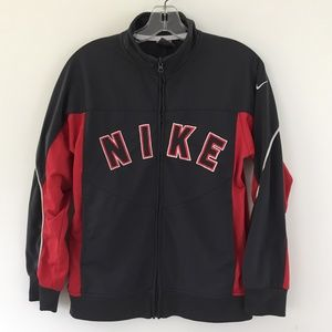 Nike Full Zip Track Jacket Size 14/16 Large Youth